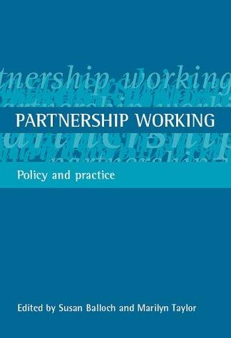 Partnership Working by Susan Balloch