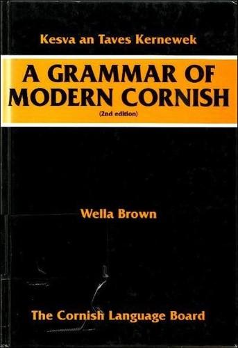 A grammar of modern Cornish