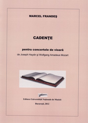 Cadenzas to Haydn and Mozart Violin Concertos by