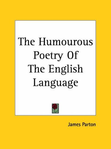 The Humourous Poetry Of The English Language