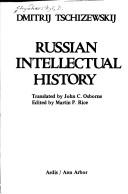 Russian intellectual history by Dmytro Chyzhevskyi