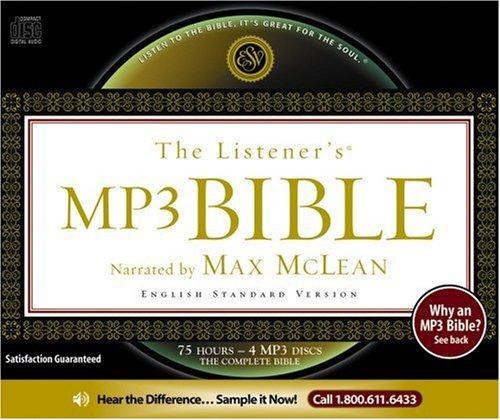 Listener's Bible, The: Holy Bible ESV, MP3 by McLean, Max