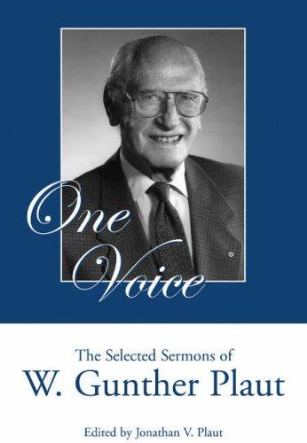 One Voice by W. Gunther Plaut