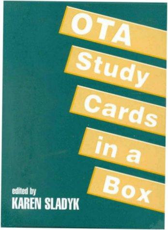 OTA Study Cards in a Box by Karen Sladyk