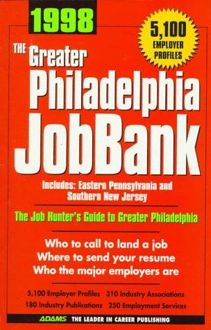 1998 The Greater Philadelphia Jobbank by Steven Graber