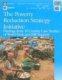 The Poverty Reduction Strategy Initiative by William G. Battaile