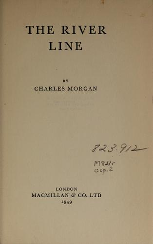 The river line by Charles Morgan