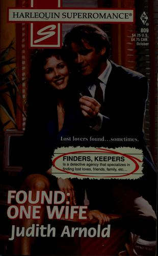 Found: one wife by Judith Arnold