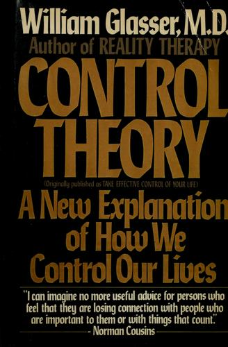 Control theory by William Glasser