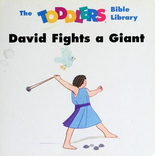 David fights a giant by Beers, V. Gilbert