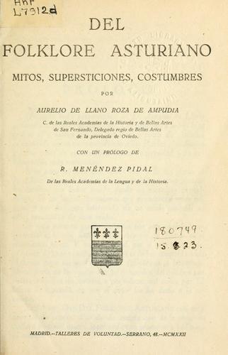 Del folklore asturiano