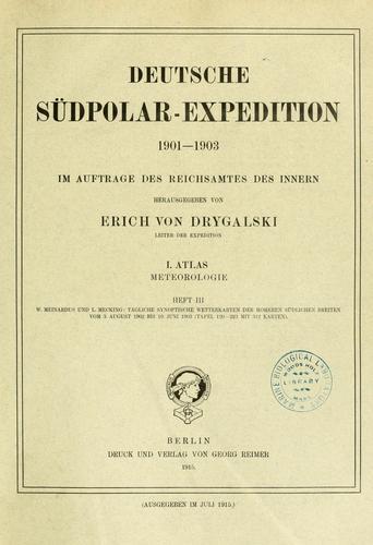 Deutsche Südpolar-Expedition, 1901-1903