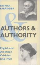 Authors and authority