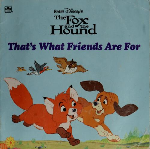 That's what friends are for by Walt Disney Productions