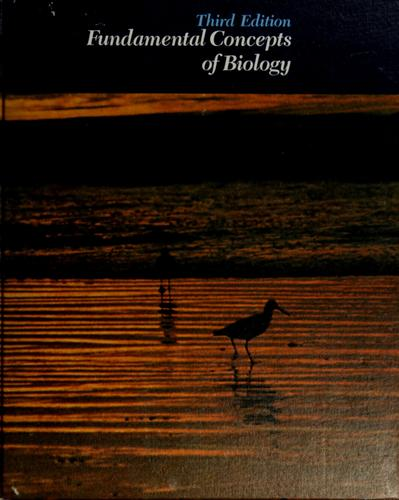 Fundamental concepts of biology