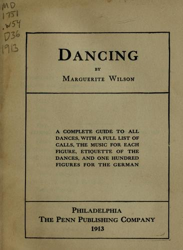 Dancing by Marguerite Wilson
