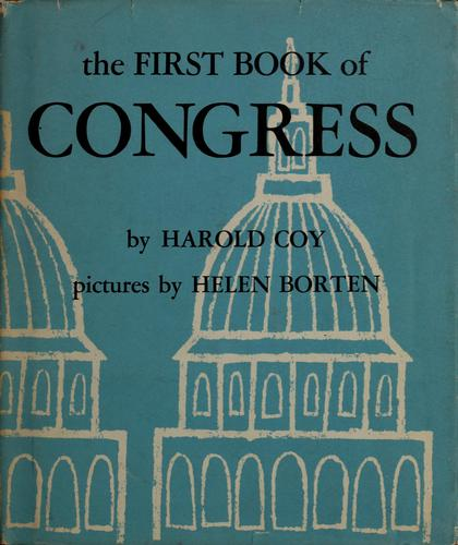 The first book of Congress by Harold Coy