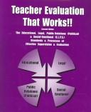 Teacher Evaluation That Works!! by William B. Ribas