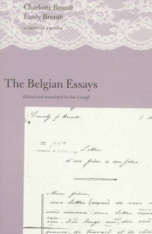 The Belgian Essays by Sue Lonoff