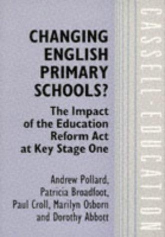 Changing English Primary Schools?