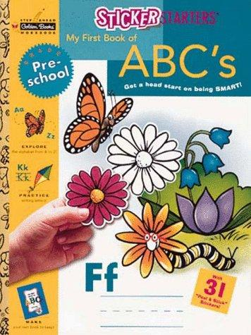 My First Book of A B C's by Golden Books