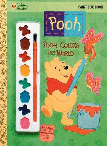 Pooh Colors the World by Golden Books