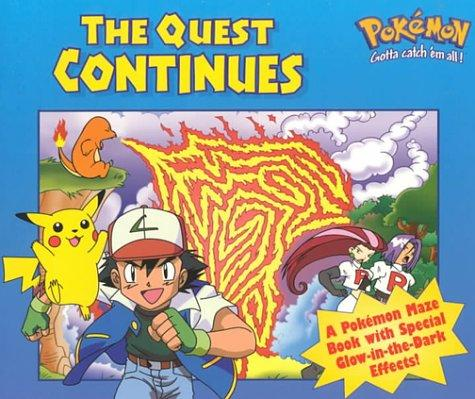 The Quest Continues (Glow in the Dark Maze Book) by Golden Books