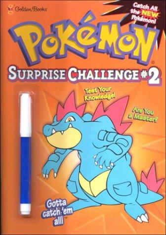 Pokemon Surprise Challenge #2 (Mark & See) by Golden Books
