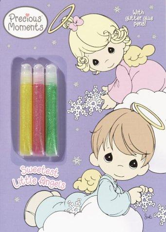 Sweetest Little Angels (Color Plus Glitter Glue) by Golden Books