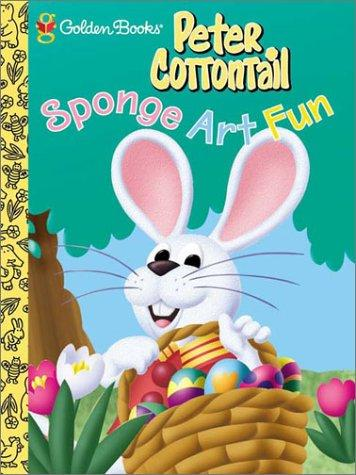 Peter Cottontail Sponge Art by Golden Books