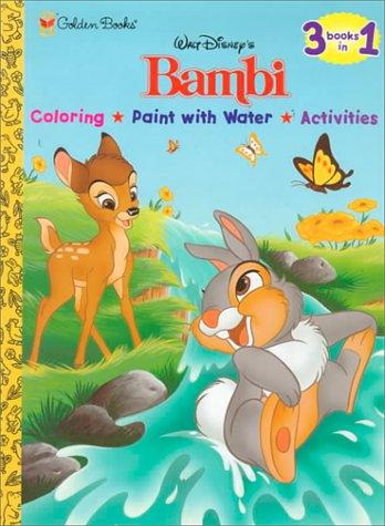 Walt Disney's Bambi by Golden Books
