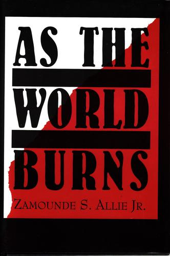 As the World Burns by Zamounde S. Allie, Jr.
