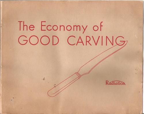 The economy of good carving.