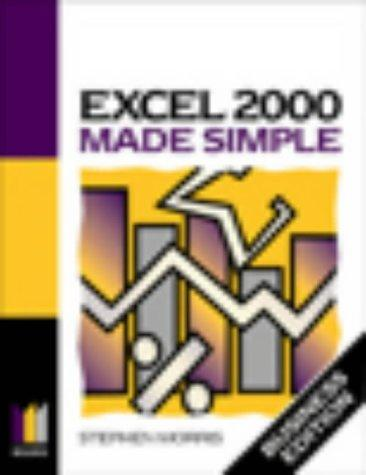 Excel 2000 Made Simple by Keith Brindley