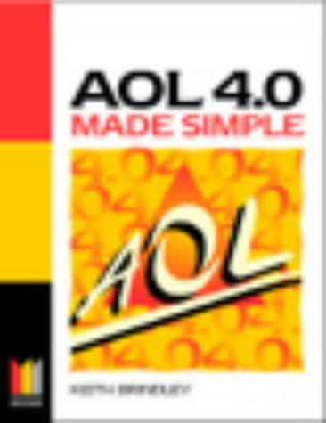 AOL 4.0 Made Simple by Keith Brindley