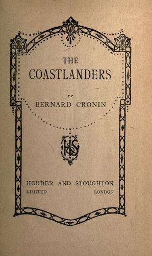 The coastlanders by Bernard  Charles Cronin
